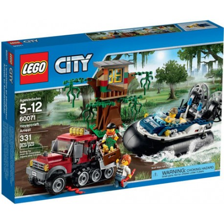 lego city 60071 water plane chase set