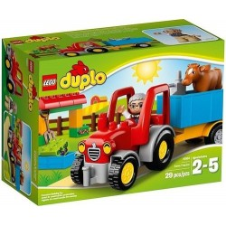 lego duplo 10524 farm tractor set new in box 10524