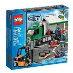 lego city 60020 transportation cargo truck set