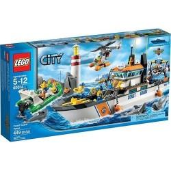 Lego Город 60014 Береговая охрана патруль с вертолета и Minifigures