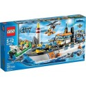 lego city 60014 coast guard patrol with helicopter and minifigures