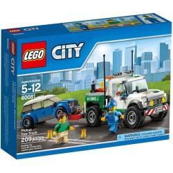 LEGO град 60,081 града големи превозни средства Лего пикап набор пътна помощ