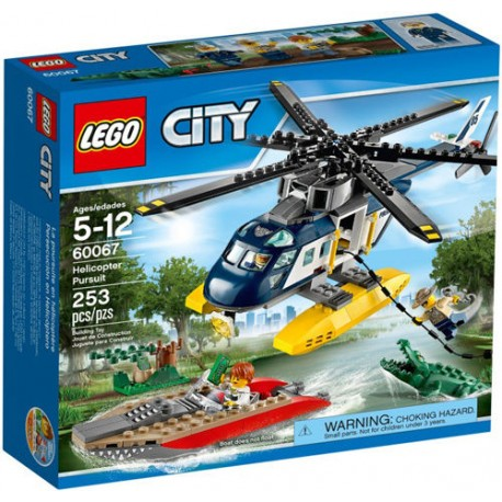 lego city 60067 city police lego helicopter pursuit