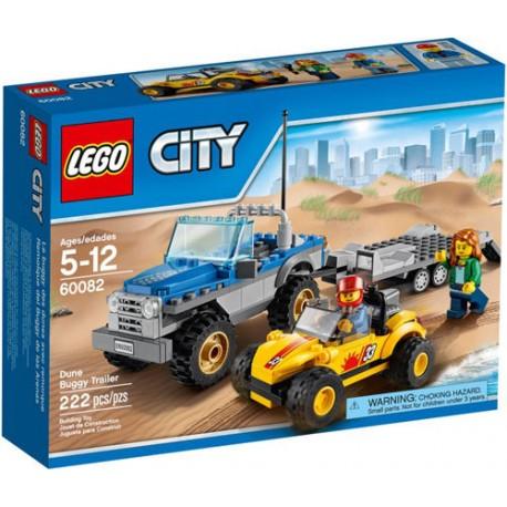 lego city 60082 city great vehicles lego dune buggy trailer set