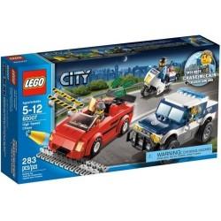 LEGO City 60007 policía de la ciudad conjunto persecución a alta velocidad