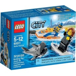 lego city 60011 coast guard surfer rescue set