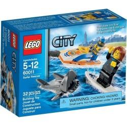 Lego City 60011 parti őrség szörfös mentési készlet