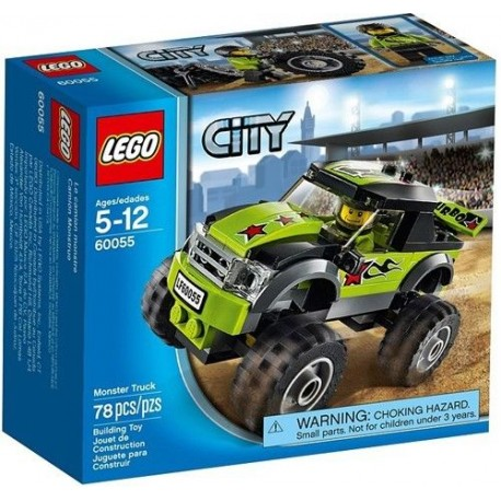 lego city 60055 great vehicles monster truck set