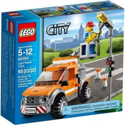 lego city 60054 great vehicles light repair truck set
