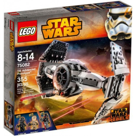 LEGO Star Wars 75082 TIE Advanced Prototype Set New In Box Sealed