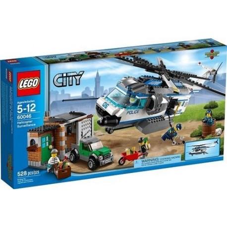 lego city 60046 police helicoper surveillance set