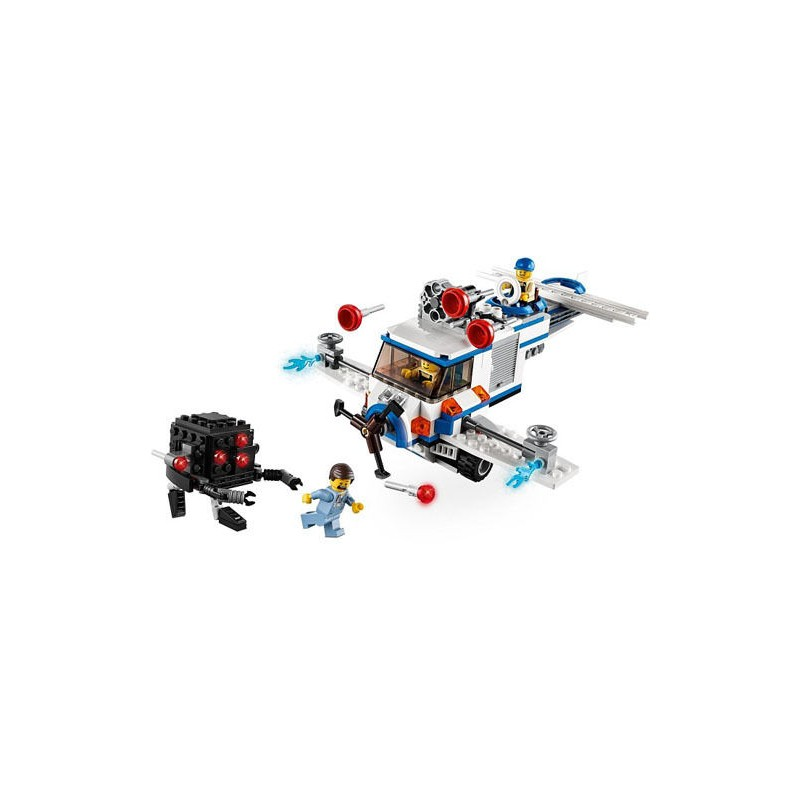 Lego Movie 70811 The Flying Flusher Set Hellotoys Net
