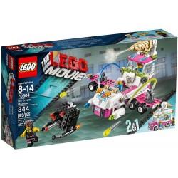lego movie 70804: saldējuma mašīna komplekts