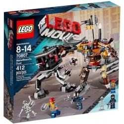 lego movie 70.807: metalen baard's duel set