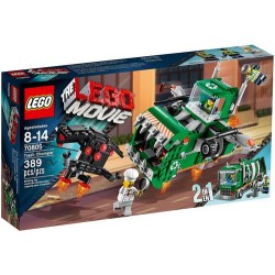 lego movie 70805: trash chomper set