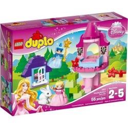 lego duplo 10542 prinsesse sovende Beautys eventyr satt nye i eske