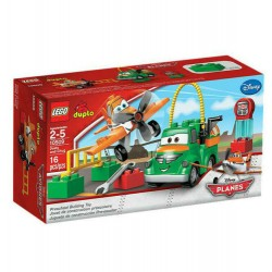 lego duplo 10509 disney planes dusty and chug set building toy set new in box