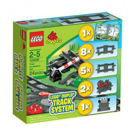 lego duplo 10506 train accessory set building toy figure set new in box sealed