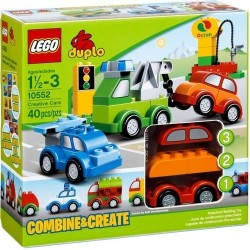 lego duplo 10552 creative cars vehicles new in box