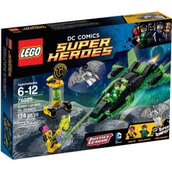 lego super erou 76025 lanternă verde vs set Sinestro