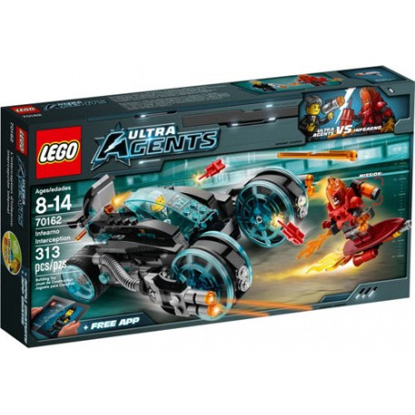 LEGO Ultra Agents 70162 Infearno Interception Set New In Box Sealed