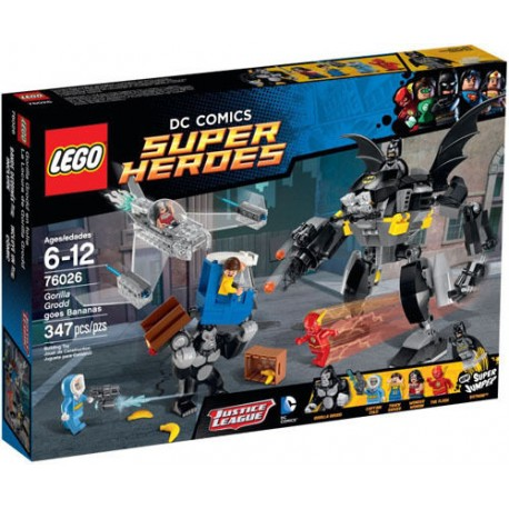 lego super hero 76026 gorilla grodd goes bananas set