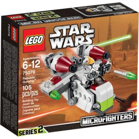 LEGO Star Wars 75076 Republic Gunship Set New In Box Sealed