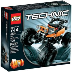 lego technic 42001 mini Off roaderset