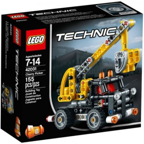 lego technic 42031 cherry picker set