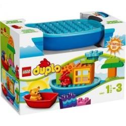 lego duplo 10.567 duplo acumulación niño y el barco diversión establece nuevo en caja 10.567