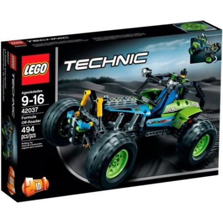 lego technic 42037 formula off-roader set