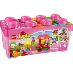 lego duplo 10571 creative play 10571 all in one box of fun pink new in box