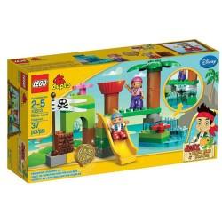 lego duplo 10513 koskaan maa piilopaikka asetettu rakennus lelu hahmo asettaa uusia kohtaan