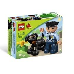レゴデュプロ5678 legovilleの警官5678は、ボックスに新しい設定しました