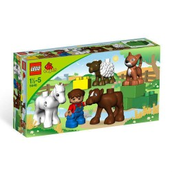 lego duplo 5646 farm nursery building toy figure set new in box sealed