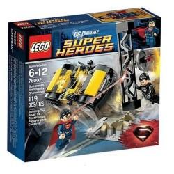 лего супер hero76002 сверхчеловека метрополии вскрытии набор