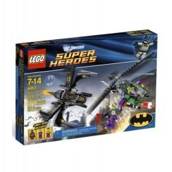 лего супер герой 6863 денщик Batwing над Готэм-набор города