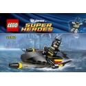 lego super hero 30160 batman jetski polybag
