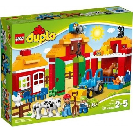 lego duplo 10525 ville big farm 10525 set new in box