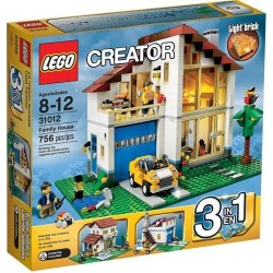 lego creator 31012 family house set
