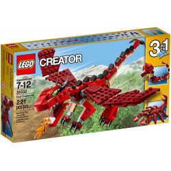 lego creator 31032 Creatures red set