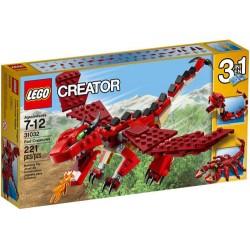 LEGO Creator 31032 Creatures rot set