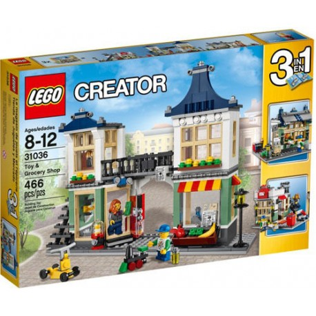 lego creator 31036 toy and grocery shop set