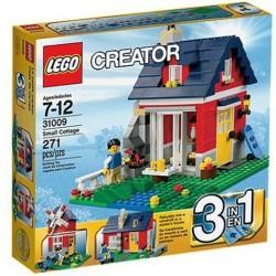 lego creator 31009 liten hytte sett