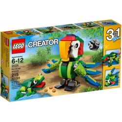 lego creator 31033 31031 rainforest animals set