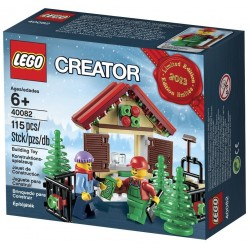 lego creator limited edition holiday tree farm 40082 set