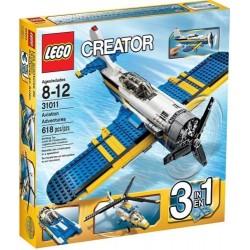 lego radītājs 31011 aviācijas piedzīvojumi iestatīts