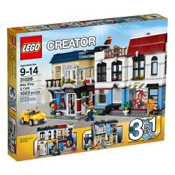 lego creator 31.026 cyklistický obchod a kaviareň stavebné hračky