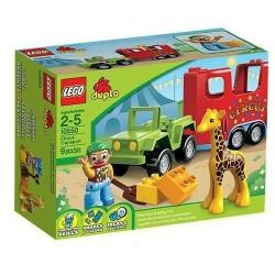 lego duplo 10550 ville cirkus transport 10.550 sätta nya i box