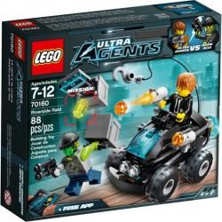 LEGO Ultra Agents 70160 Riverside Raid Aseta uusi In Box Sealed